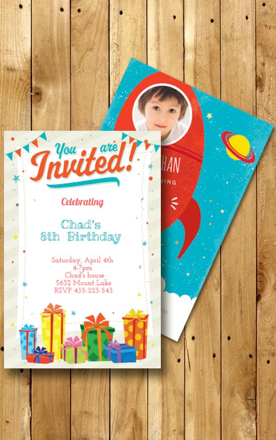 Personalized Invitations