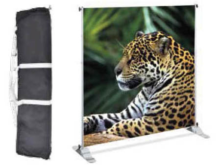 Large Format Adjustable Banner Stand
