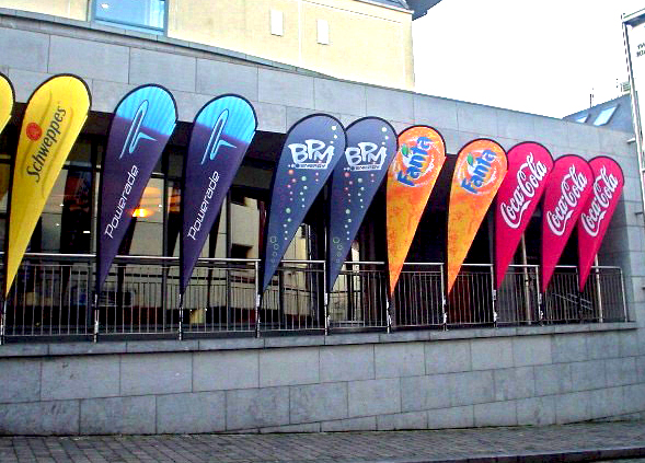 Custom Feather banners