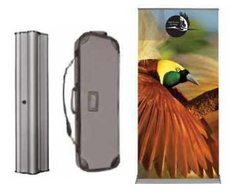 """Silverstep Retractable Banner Stand 60"""""""