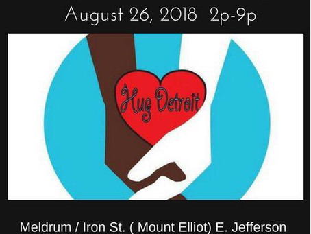 6th Annual HUG DETROIT DAY Block Party/ Concert Backpack & School Supply Drive 2018