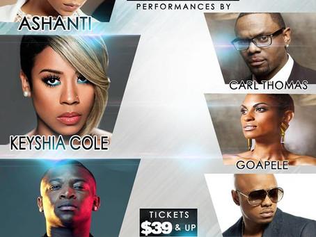 Las Vegas Soul Festival Ashanti, Keyshia Cole, OT Genasis & More