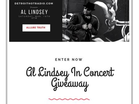 Al Lindsey In Concert Giveaway