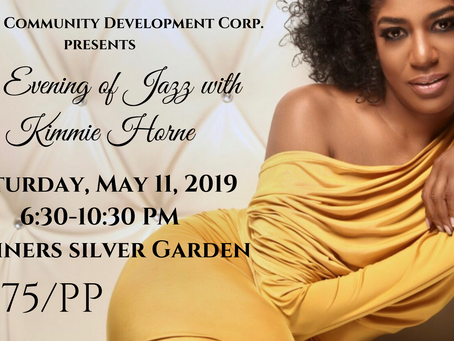 Citadel Community Development Corp presents an Evening of Jazz with Kimmie Horne
