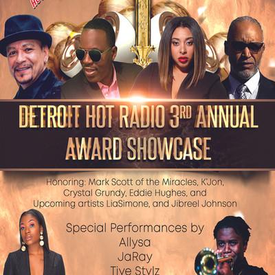 Detroit Hot Radio 3rd Annual Award Showcase