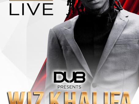 Wiz Khalifa live on stage October 30th!