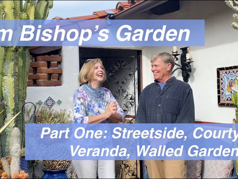GUEST COLUMN: SDHS Horticulturist of the Year 2017, Debra Lee Baldwin, visits HOY '19, Jim Bishop.