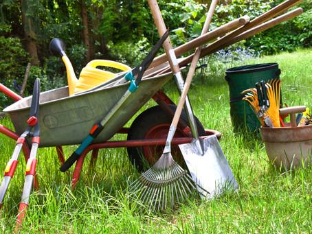 FROM THE MASTER GARDENERS: Get Garden Tools in Shape!