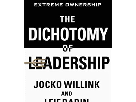 Book of the week: The Dichotomy of Leadership