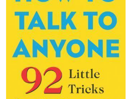 Book of the week: How to talk to anyone