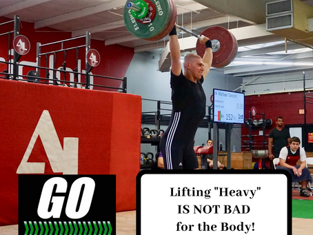 You SHOULD BE LIFTING HEAVY!