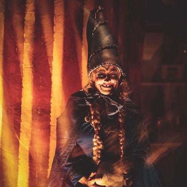 Min datter Eline! #makeupdesign #costume