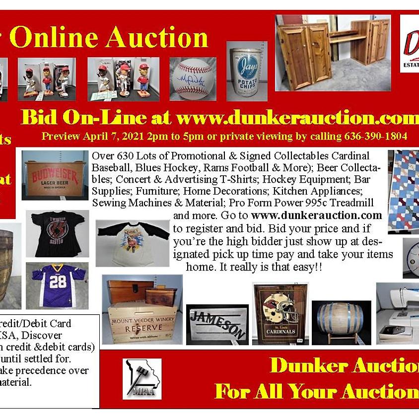 Keller Estate Online Auction