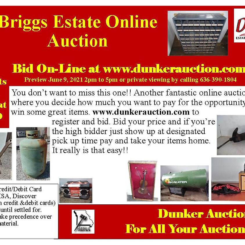 Briggs Estate Online Auction