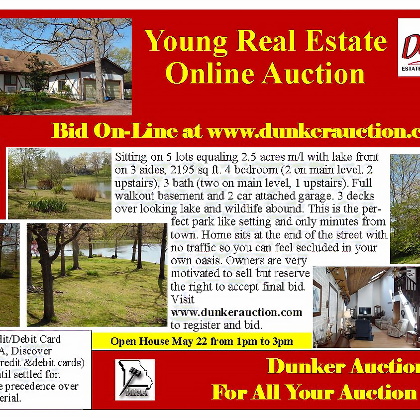 Young Real Estate Online Auction
