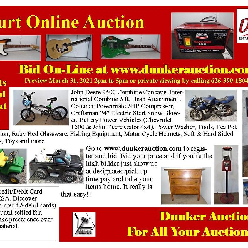 Burt Online Estate Auction