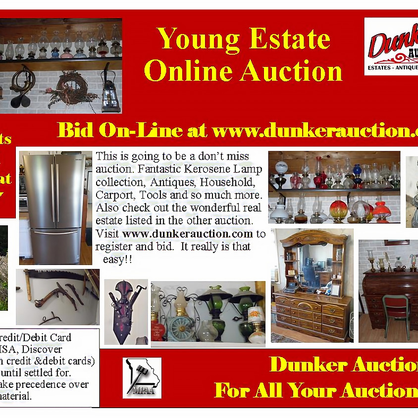 Young Estate Online Auction