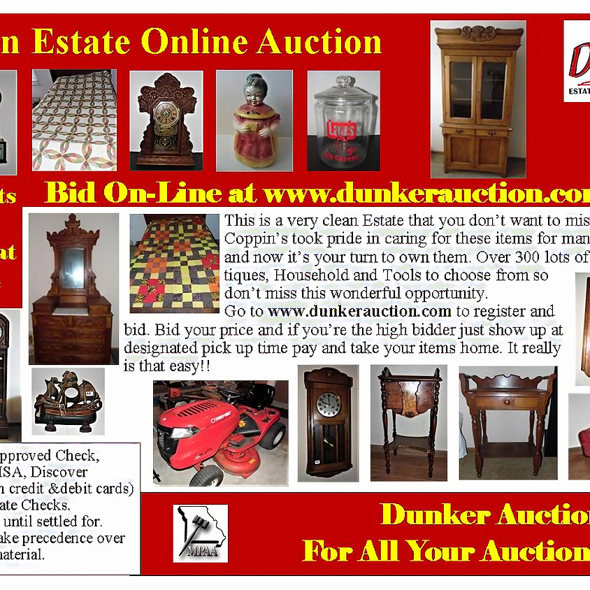 Coppin Estate Online Auction