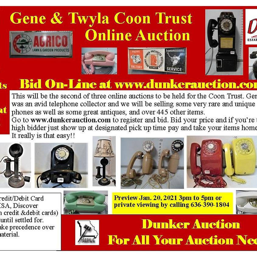 Gene & Twyla Coon Trust Online Auction #1 (1)