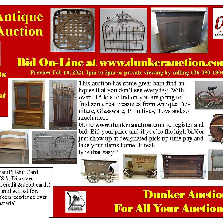 Sheryl Antique Online Auction