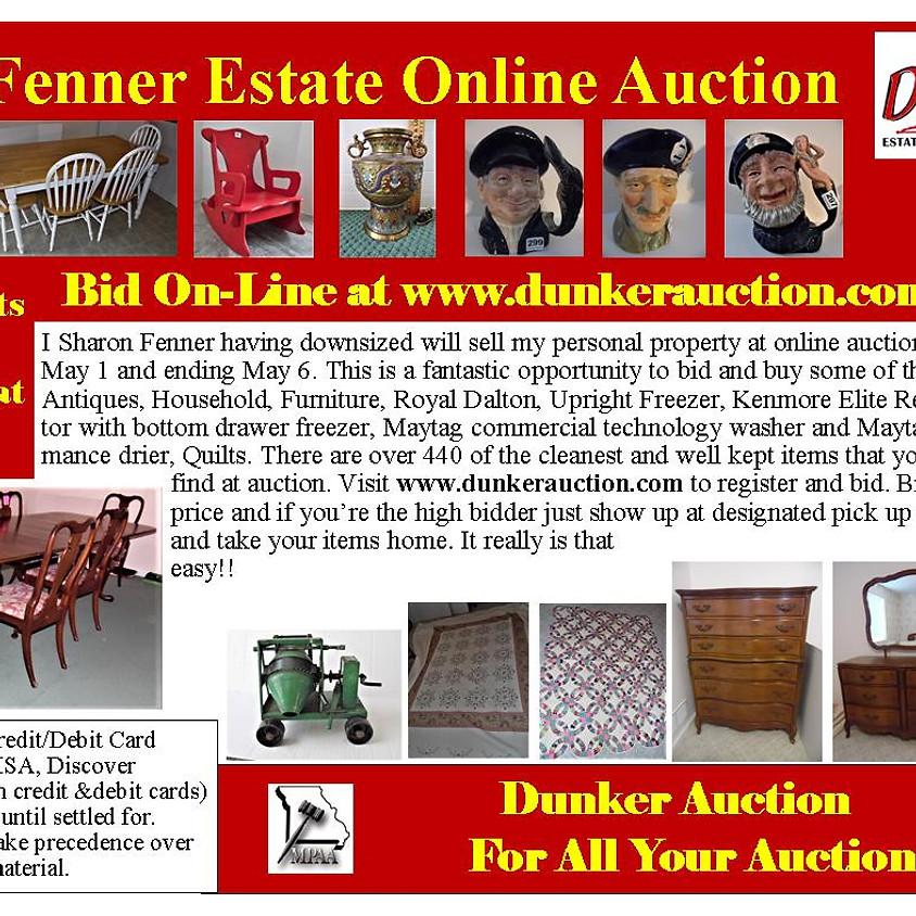Fenner Estate Online Auction