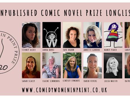 Comedy Women in Print prize – longlist!