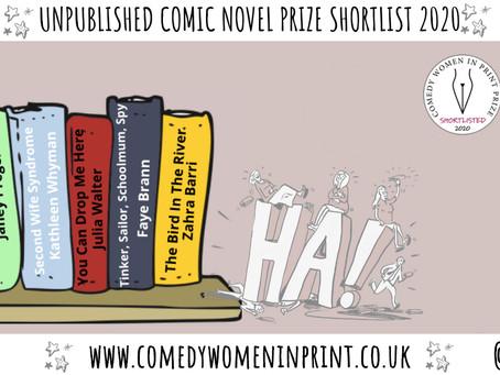 Comedy Women in Print prize – shortlist!