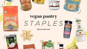 15 Must-Have Vegan Pantry Staples