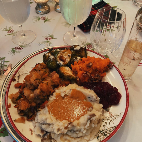My first vegan Thanksgiving