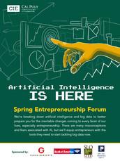Artificial Intelligence Forum Flyer