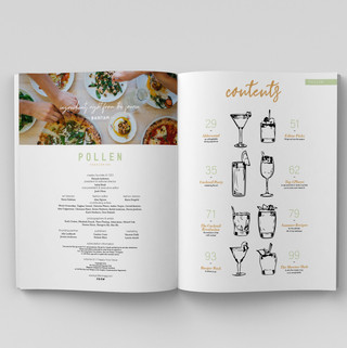 POLLEN Mag Table of Contents