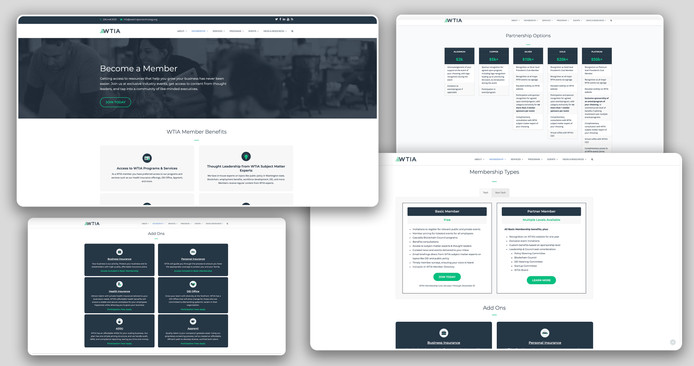 WTIA Membership Page Design