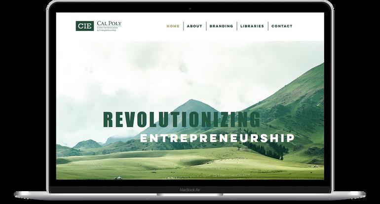CIE Branding Home Page