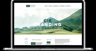 CIE Branding Logo/Typeface Page