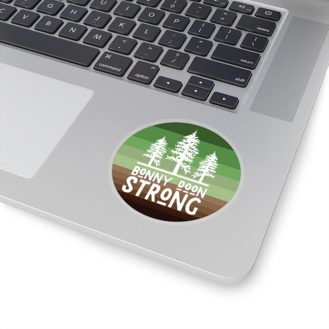 Bonny Doon Strong Sticker