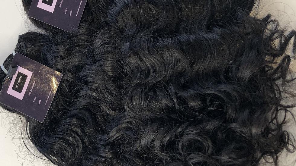Saint Curly & Lace Closure Bundle Deal