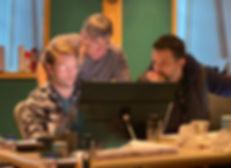 August Eriksmoen with Stephen Scwartz and Dominic Amendum