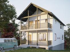 Außenvisualisierung Bremen Mehrfamilienhausjpg
