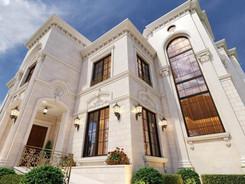 Visualisierung Außenvisualisierung Villa Abu Dhabi