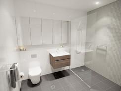 Innenraumvisualisierung WC