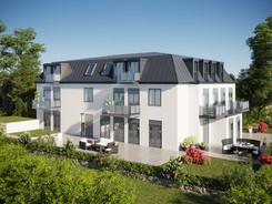 Außenvisualisierung Visualisierung Mehfamilienhaus Bremen