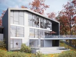 Visualisierung Außenvisualisierung Mehrfamilienhaus Bremen