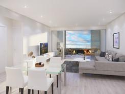 Innenraumvisualisierung Wohnzimmer