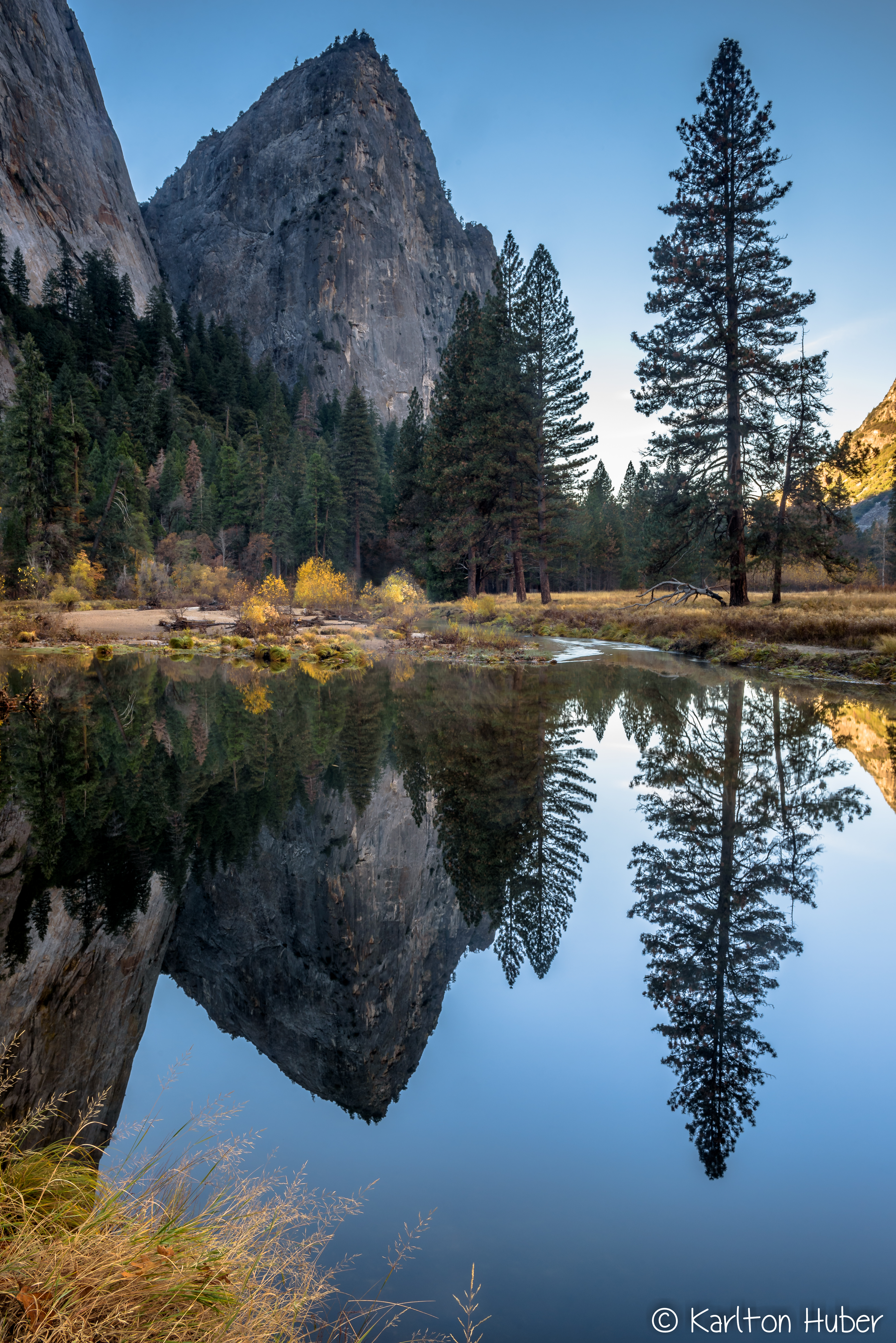 Yosemite Valley - Waters Edge