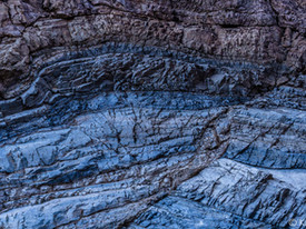 Canyon Wall Details, Death Valley National Park