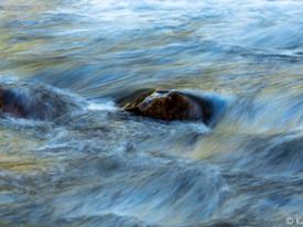 Flowing Creek, Autumn Light