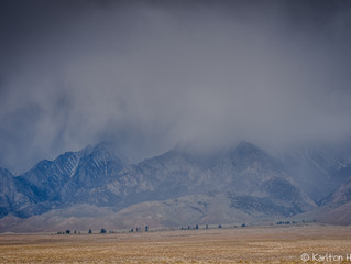 Owens Valley - Spring Rain