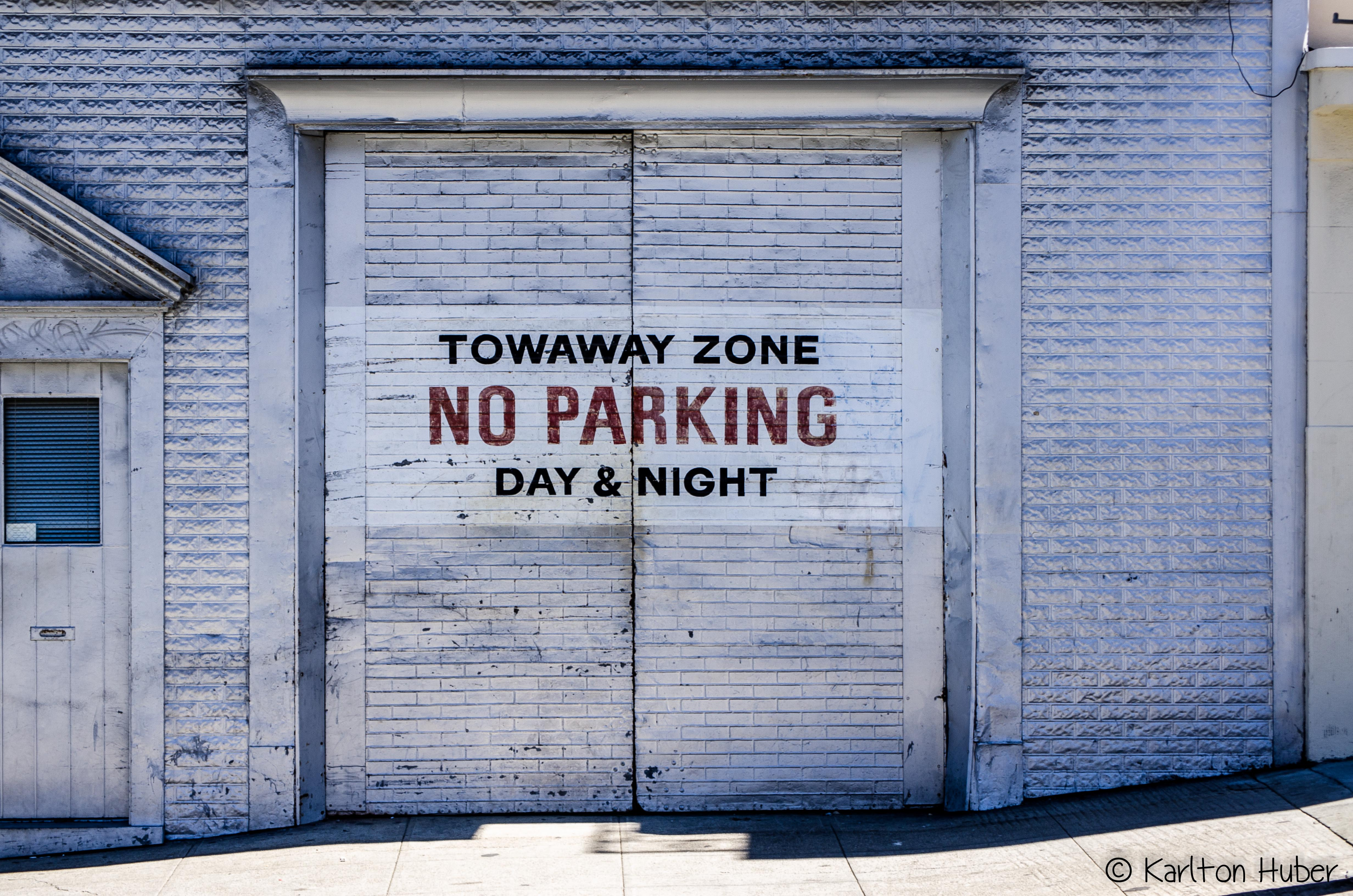 San Francisco - Towaway Zone