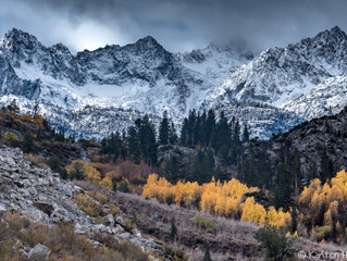 Eastern Sierra - Clearing Autumn Storm