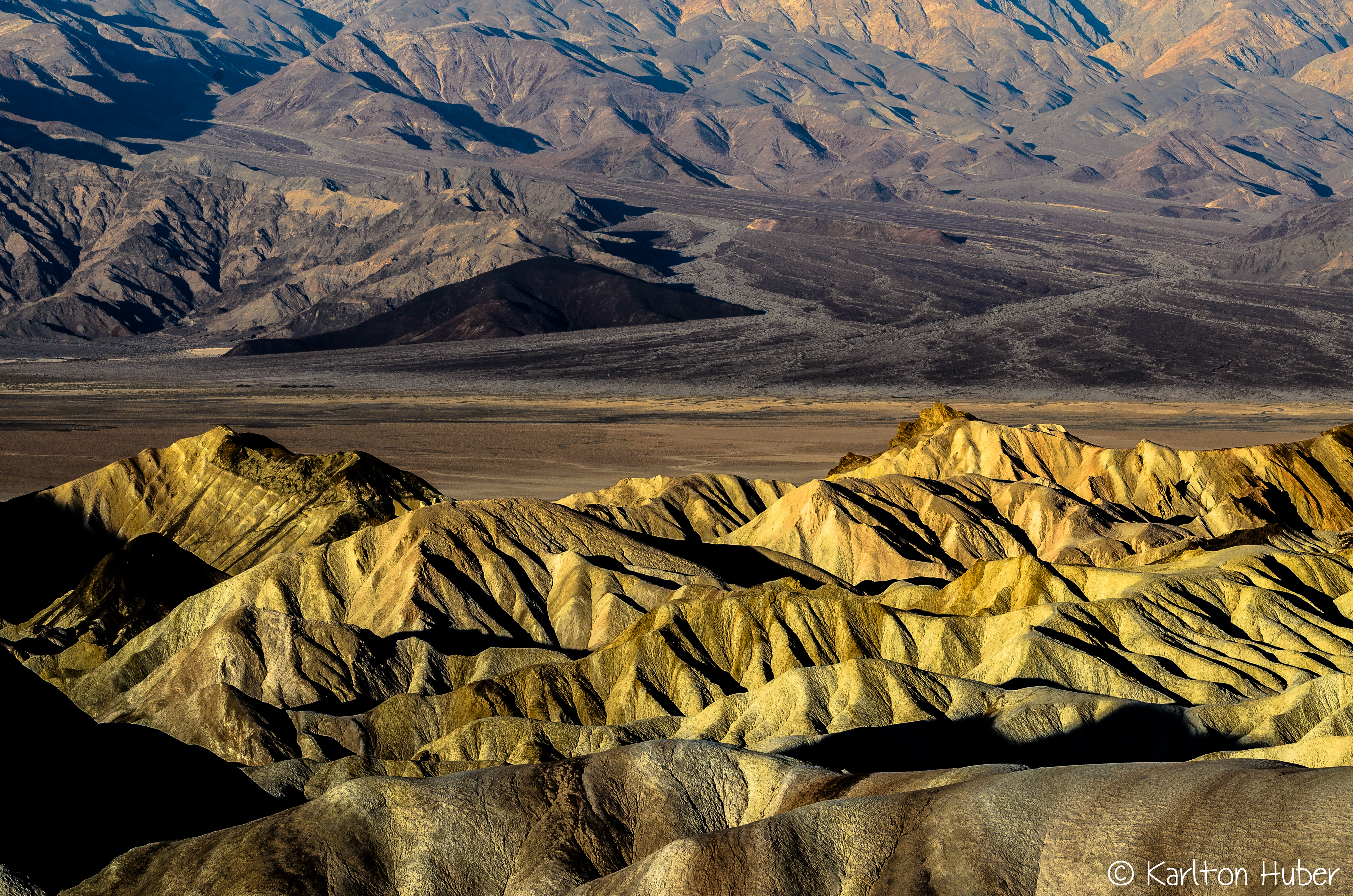 Morning Light -  Zabriskie Point